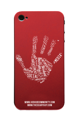 HIBhub Handprint iPhone Cover