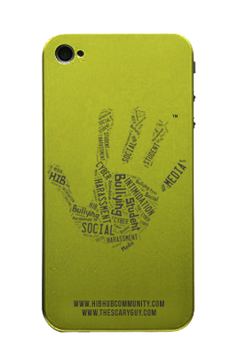 HIBhub Handprint iPhone Cover – Green