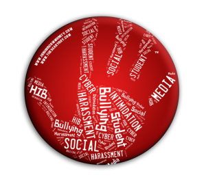 HIBhub Handprint Button – Red