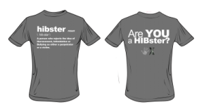 HIBster Definition Tee – Grey