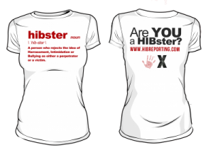 HIBster Definition Tee – White