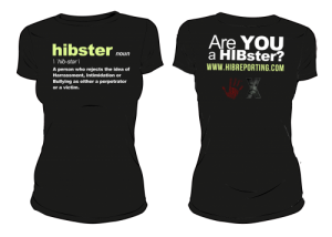 HIBster Definition Tee – Black