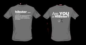 HIBster Definition Tee – Grey