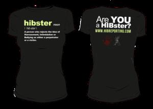 HIBster Definition Tee – Black